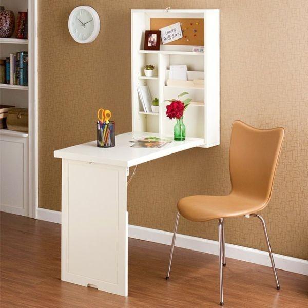 Dạng bàn làm việc treo tường đa năng này phù hợp với mọi không gian.