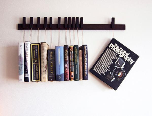 giá sách treo tường